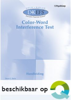 D-KEFS | Color Word Interference test