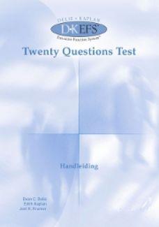 D-KEFS | Twenty Questions Test