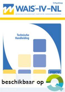 WAIS-IV-NL | Wechsler Adult Intelligence Scale IV-NL