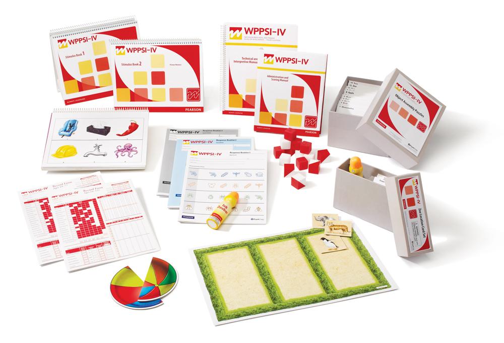 WPPSI-IV-NL complete set papier