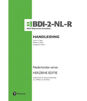 BDI-II-NL-R | Beck Depression Inventory Second edition  Nederlandse versie – Herziene editie