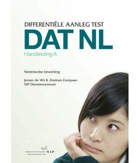 DAT NL A | Differentiële Aanleg Test voor Onderwijs versie A: Havo/Vwo