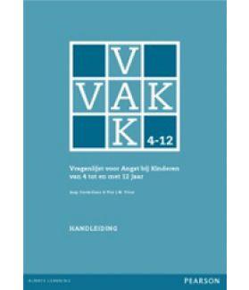 VAK 4-12 | Vragenlijst voor Angst bij Kinderen van 4 tot en met 12 jaar