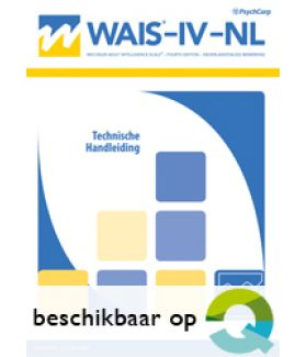 WAIS-IV-NL | Wechsler Adult Intelligence Scale IV-NL