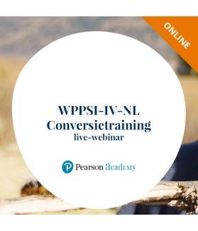 WPPSI-IV-NL Conversietraining live-webinar (online)